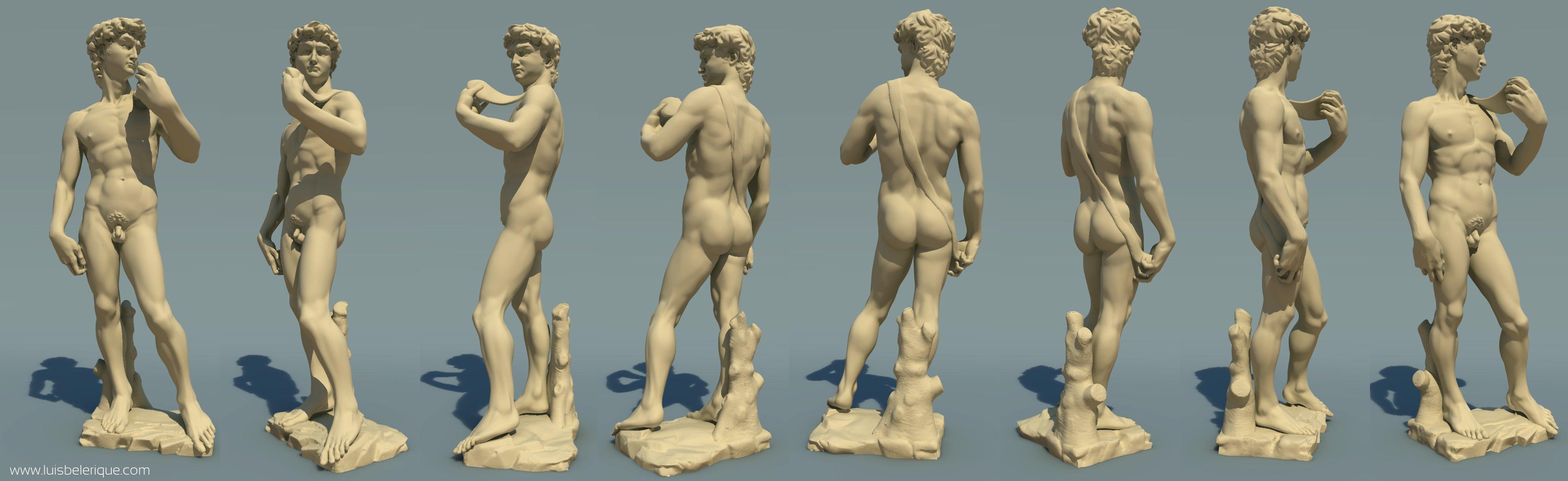 Где находиться давид микеланджело