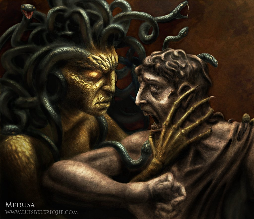 Statues Of Gods What Do You Guys Want Medusa To Look Like Smite